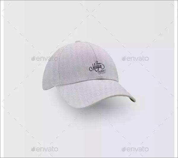 Hats Mockup Scene Design
