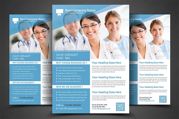 Health & Medical Doctors Flyer