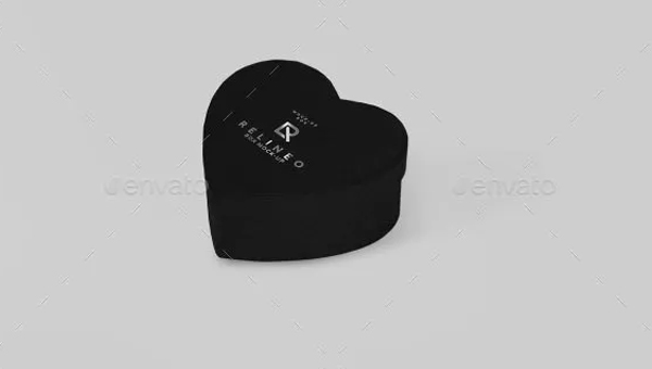 Heart Box Mock-up Set