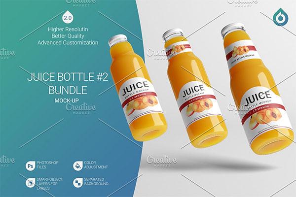 Juice Mockup Bottle