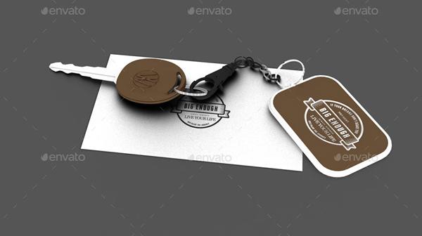 Free Keychain Mockups