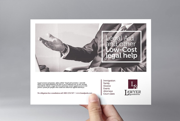 Law Firm Flyer Photoshop Template