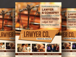 Lawyer Flyer Templates
