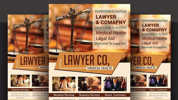 Lawyer Flyer Templates