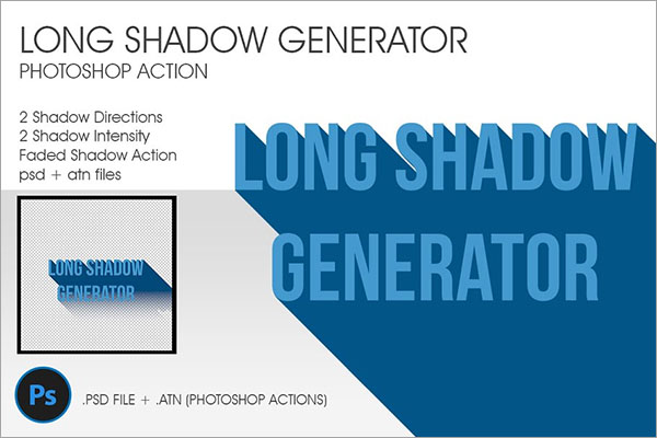 Long Shadow Generator Actions