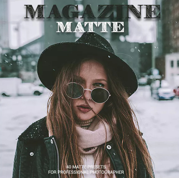 Magazine Matte Lightroom Presets