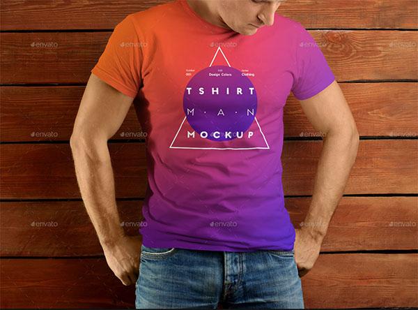 Man T-shirts Mockups