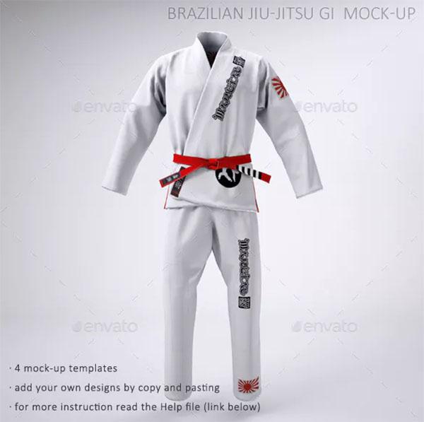 Martial Arts Uniform Mock-up