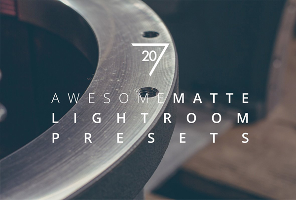 Matte Awesome Lightroom Presets