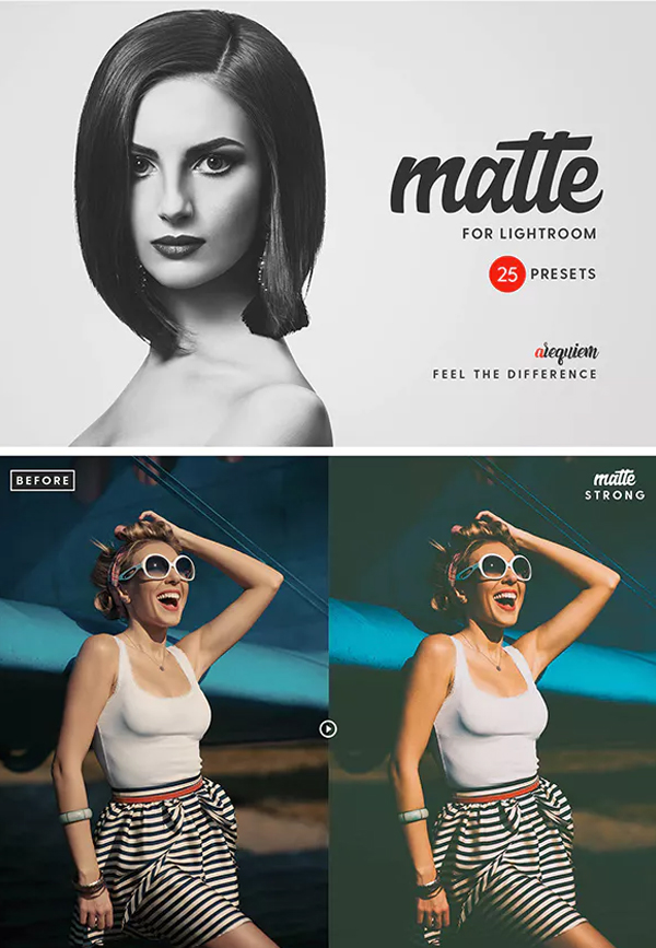 Matte Blogger Lightroom Presets