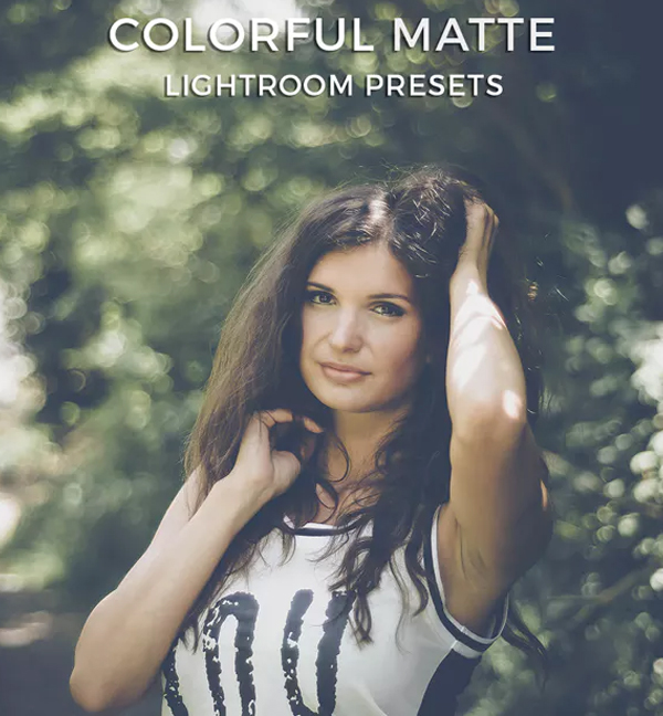 Matte Colorful Lightroom Presets