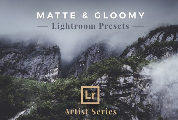 Matte & Gloomy Lightroom Presets