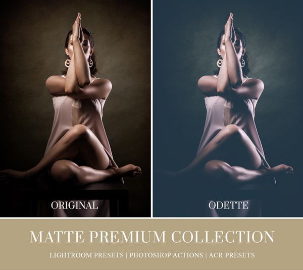 Matte Lightroom Presets Adobe Photoshop Actions