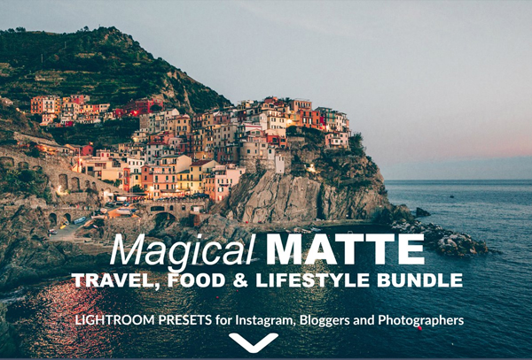 Matte Magical Lightroom Presets