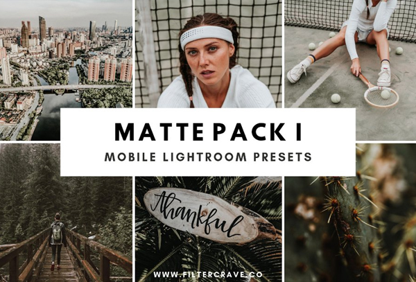 Matte Mobile Pack Lightroom Presets