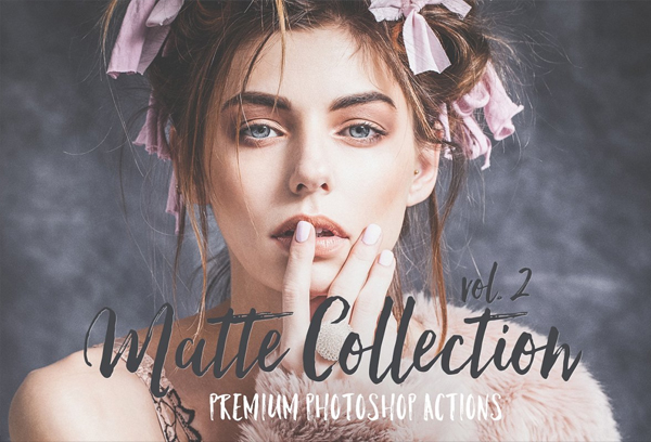 Matte Photoshop Actions & ACR Preset