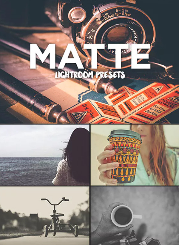 Matte Presets Lightroom