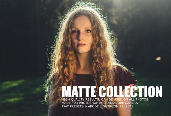 Matte Tone Action & Camera RAW