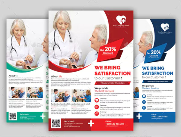 Medical Creative PSD Flyer Template