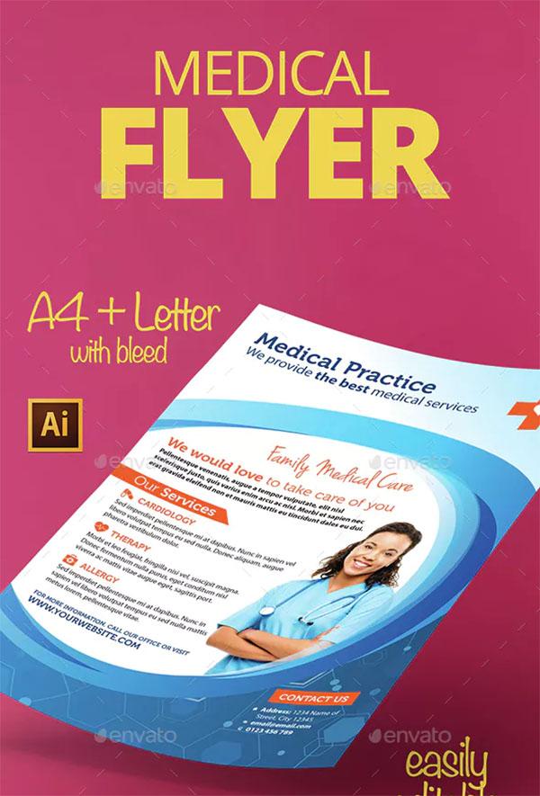 Medical Design Flyer Template