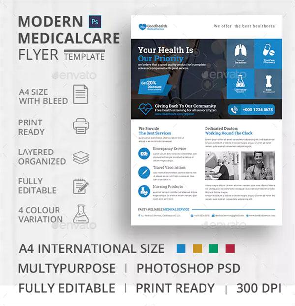 Medical Flyer PSD Template