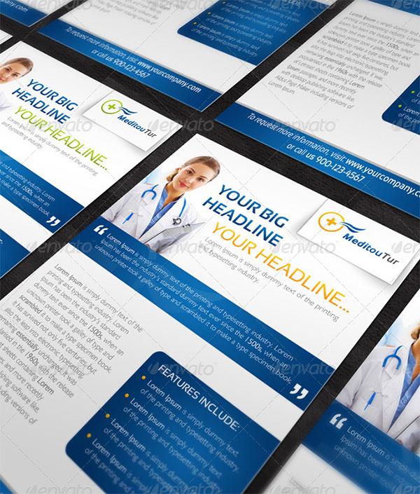 Medical Flyer Template PSD Design