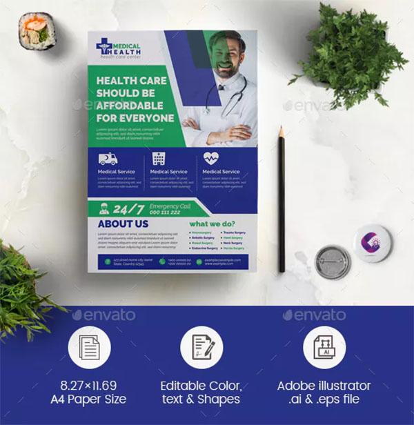 Medical PSD Flyer