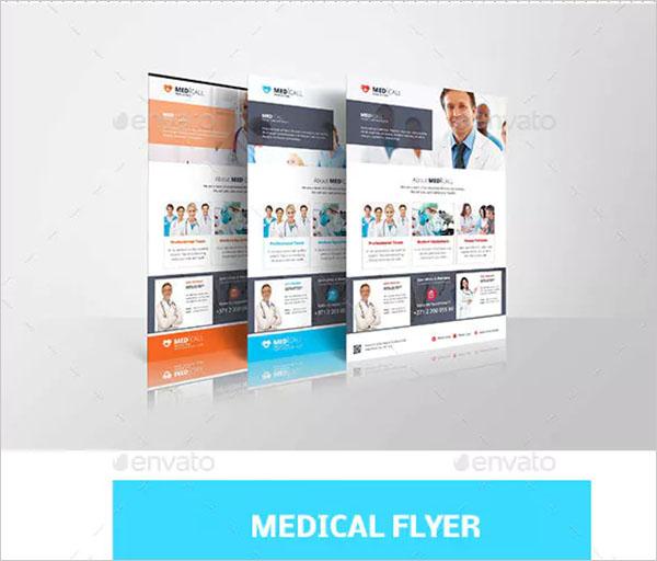 Medical Promotion PSD Flyer