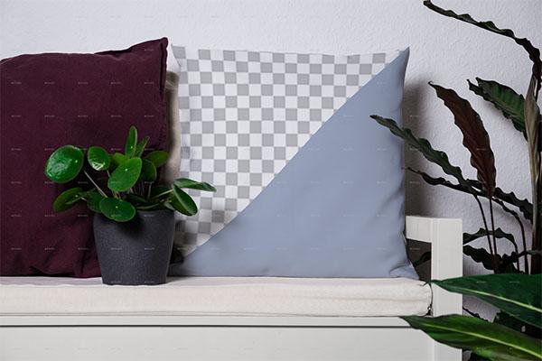 Modern Pillow Mockups