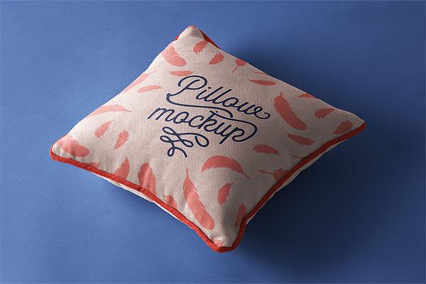 PSD Pillow Mockup Presentation