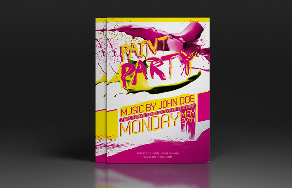 Paint Party Flyer & Poster