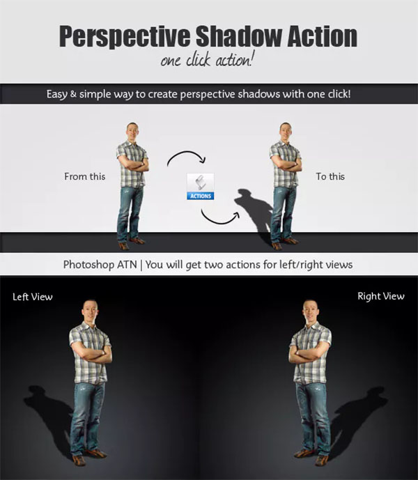 Perspective Shadow PSD Action