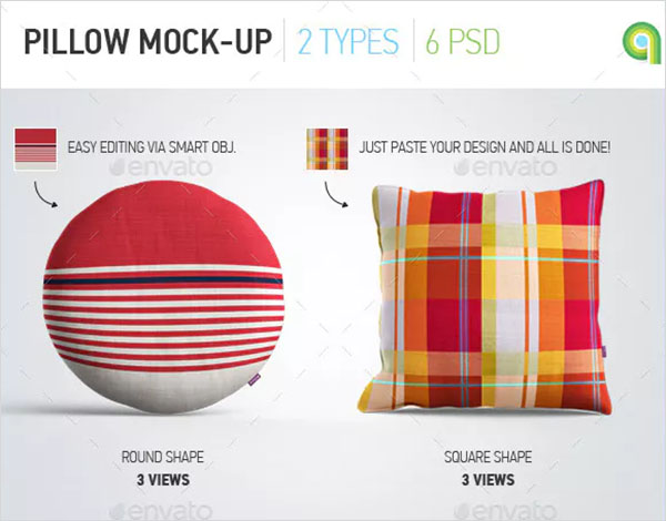 Pillow Mock-Up Design