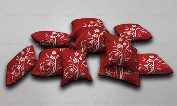 Pillow Mock-ups Design Template