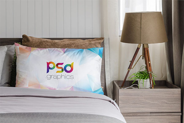 Pillow Mockup Free PSD Design