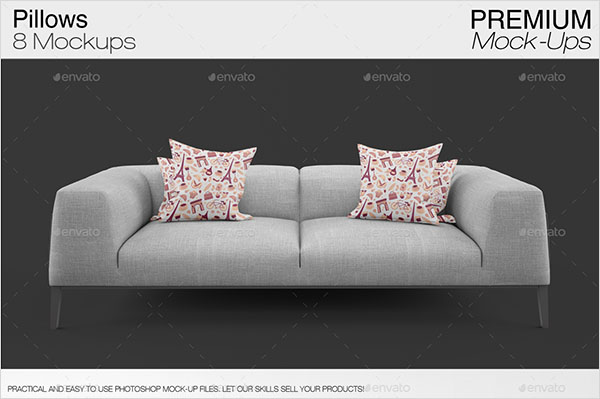 Pillow Mockups Design