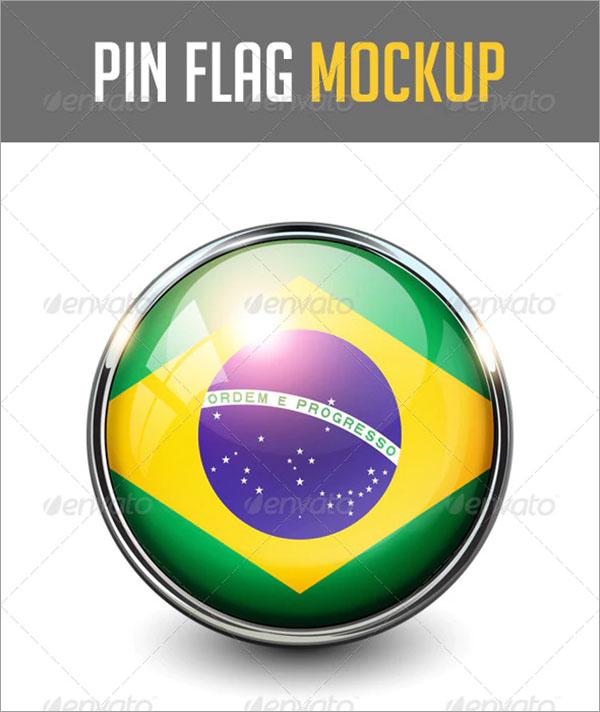 Pin Flags MockUp