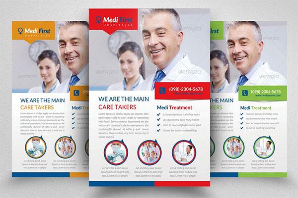 Premium Medical Flyer Template