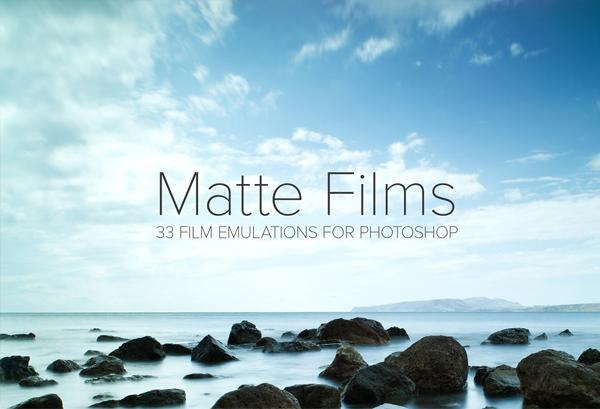 Pro Matte Film Actions