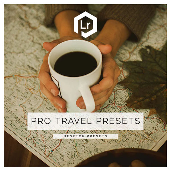 Pro Travel Lightroom Presets PSD