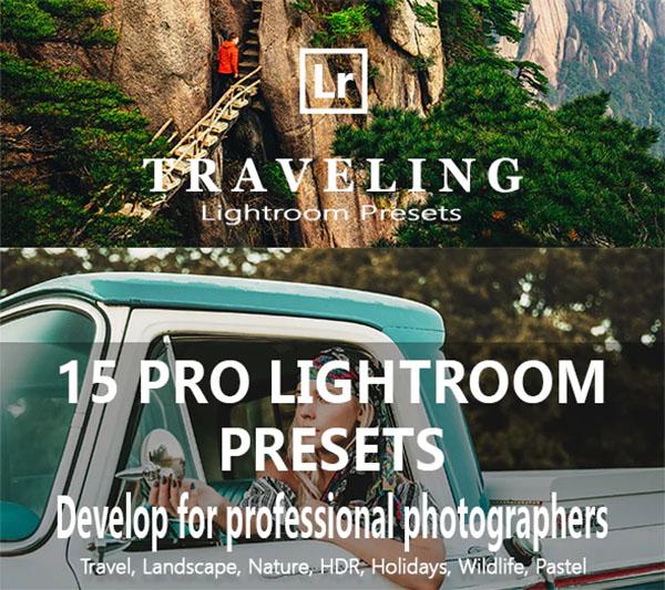 Pro Travel Lightroom Presets