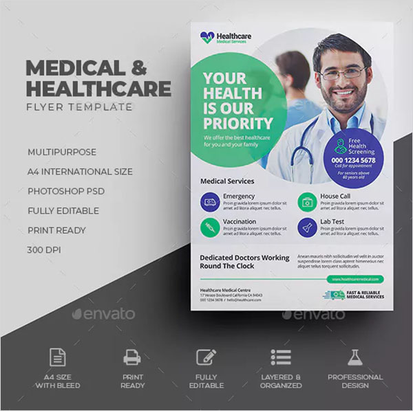 Professional Medical Flyer