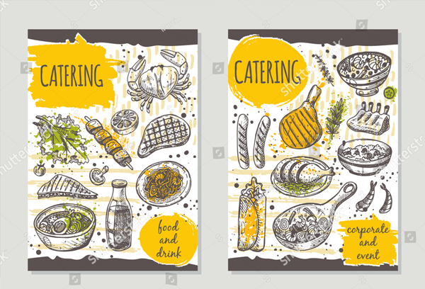 Retro Catering Brochure