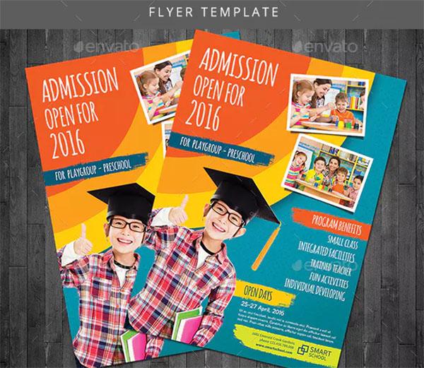 School Promotion Template Flyer