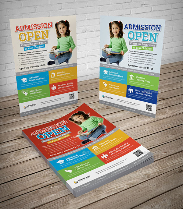 School Study Promotion Color Flyer