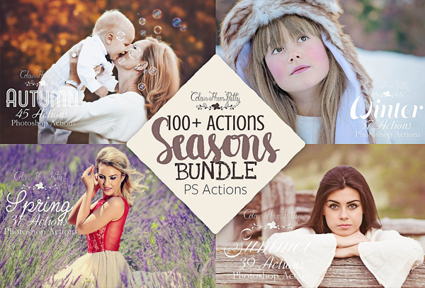 Seasons Actions Bundle
