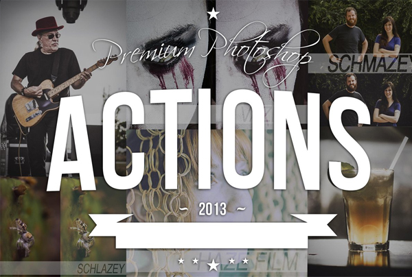Set of Powerful Photoshop Actions