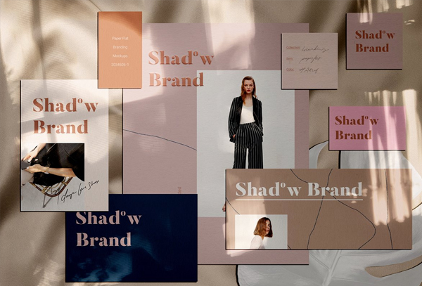 Shadow Brand Paper Mockups