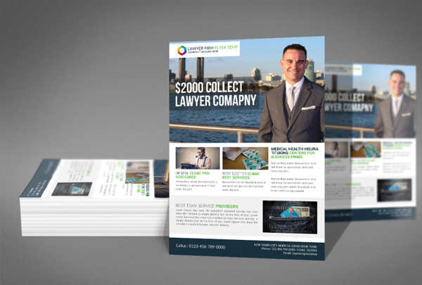 Simple Lawyer Flyer Templates