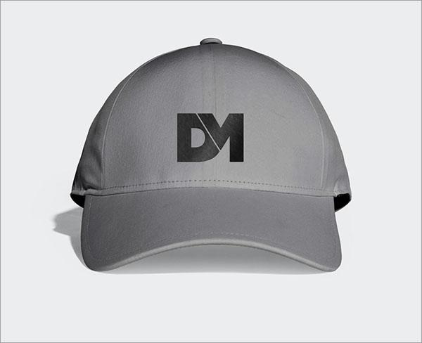 Simple PSD Baseball Cap Mockup